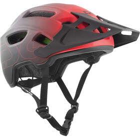 TSG Trailfox Graphic Design Helmet fade to red